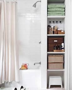 Bathroom Ideas Storage by Smart Space Saving Bathroom Storage Ideas Martha Stewart