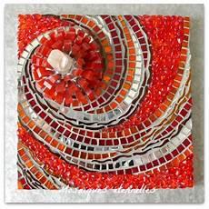 Mosaique D Contemporain Tableau En Mosaique Spirale