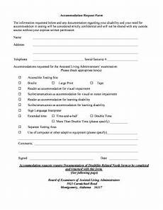 reasonable accommodation request form alabama fill online printable fillable blank pdffiller