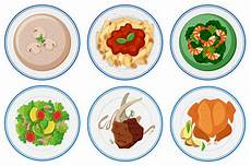 different types of food on the dish download free