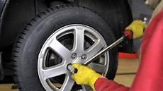 Aufgebockt Und Reifen Abmontiert Unbekannter Klaut Felgen