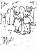 Arthur 21 Cartoons Coloring Pages  Page Book