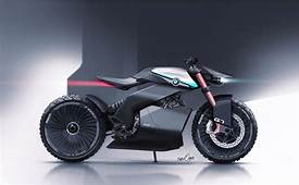 BMW G7 Scrambler Concept On Behance  Futuristic