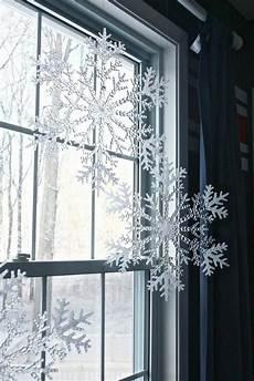 Große Fenster Dekorieren - fensterdeko f 252 r weihnachten wundersch 246 ne dezente und