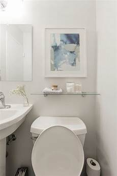 4 pictures of an amazing half bathroom makeover