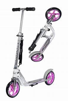 Hudora Scooter Big Wheel 205 - new hudora big wheel 205 roller scooter pink silver 14773