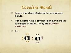 chemical bonds ppt