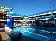 pool spa fitness on carnival dream cruise ship cruise