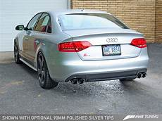 187 awe tuning audi s4 3 0t touring edition exhaust chrome silver tips 90mm