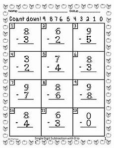 single digit addition and subtraction worksheets with pictures 9613 back to school touch math addition and subtraction single digit by effortless