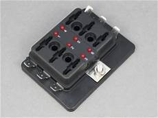 Standard Blade Fuse Box With Leds 6 Way 12 Volt Planet