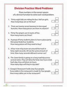 free worksheets division word problems 6894 division word problems show me the money classroom word problems 3rd grade word problems