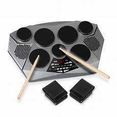 Pyle Electronic Drum Set Pad With Built In