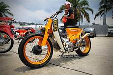 Modifikasi Honda C70 Chopper by 42 Foto Gambar Modifikasi Motor C70 Racing Chopper
