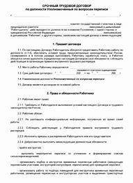 трудовой договор на испытательный срок для ооо без оформления