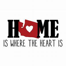 home is where the heart is wall quotes decal wallquotes com