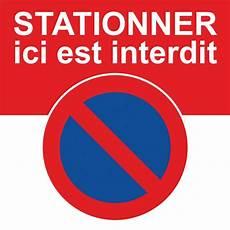 Autocollants D Avertissement D Un Stationnement Interdit