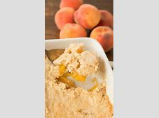southern peach cobbler with canned peaches