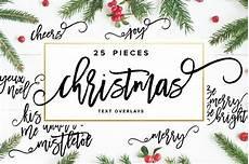 christmas text overlays by sugarstudios creativemarket christmas text photoshop overlays