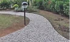 tipi di ghiaia vialetto di ghiaia per il giardino i fai da te di
