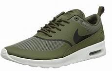 style nike air max thea se olive green black white