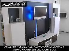 kabelkanal tv wand kabelkanal mit edelstahl geb 252 rstet optik l 228 nge 40cm