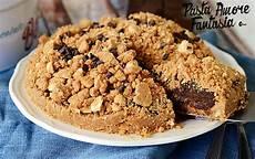 crema pasticcera con biscotti sbriciolati crumble di biscotti con crema al cacao ricetta dolce