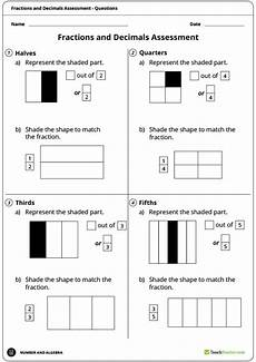 exploring fractions and decimals unit plan year 3 and year 4 unit plan teach starter