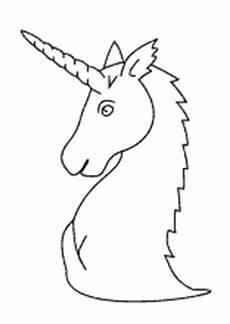 bastelvorlage einhorn kopf ausmalbild einhorn fabelwesen einh 246 rner unicorn