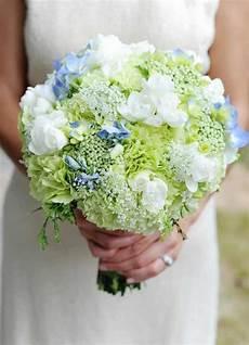 Brautstrauß Mit Hortensien - brautstrau 223 mit hortensien in wei 223 und pastellblau strauss
