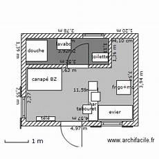 plan studio 20m2 studio 20m2 plan 2 pi 232 ces 16 m2 dessin 233 par miveran