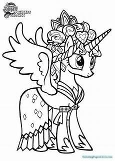 Malvorlagen My Pony Unicorn My Pony 신비의 상징 유니콘 마이리틀포니 색칠공부 Malvorlage
