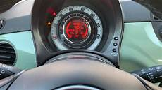 fiat 500 service light reset