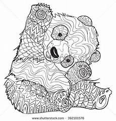 Ausmalbilder Erwachsene Panda Image Result For Desenhos Para Colorir Mandalas De Animais