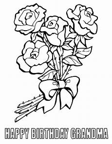 happy birthday coloring pages getcoloringpages