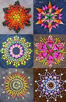Mandala Blumen - new flower mandalas by kathy klein