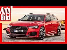 Zukunftsaussicht Audi Rs 6 Avant 2019