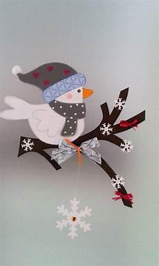 Fensterbilder Weihnachten Vorlagen Tonkarton Fensterbild Vogel Auf Dem Zweig Winter Weihnachten