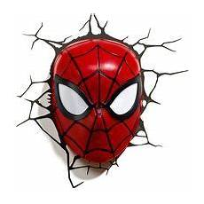 3d spider man led wall light 915004567101