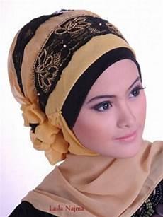 30 Model Jilbab Pesta Untuk Orang Tua Model