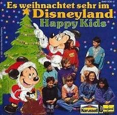 happy es weihnachtet sehr im disneyland cd 1991