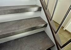 treppenrenovierung mit laminat laminat treppenstufen in individueller beton optik