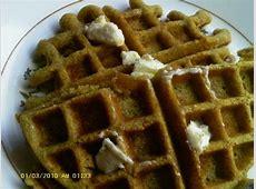 cornmeal rye waffles_image