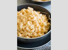easy baked macaroni and cheese_image