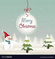 merry christmas royalty free vector image vectorstock