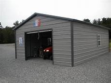 carport garage 18x26 a frame enclosed carport garage pine creek structures