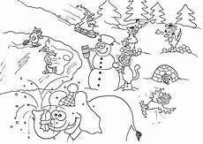 Winter Malvorlagen Winter Malvorlagen Kostenlos Zum Ausdrucken Ausmalbilder