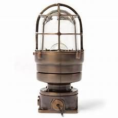 industrial bronze caged sconce for sale at 1stdibs