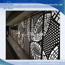 panneau decoratif aluminium panneau d 233 coratif d 233 coup 233 au laser perfor 233 en aluminium et