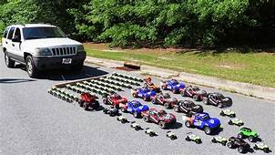 How Many Toy Cars Does It Take To Pull A Real Car  YouTube